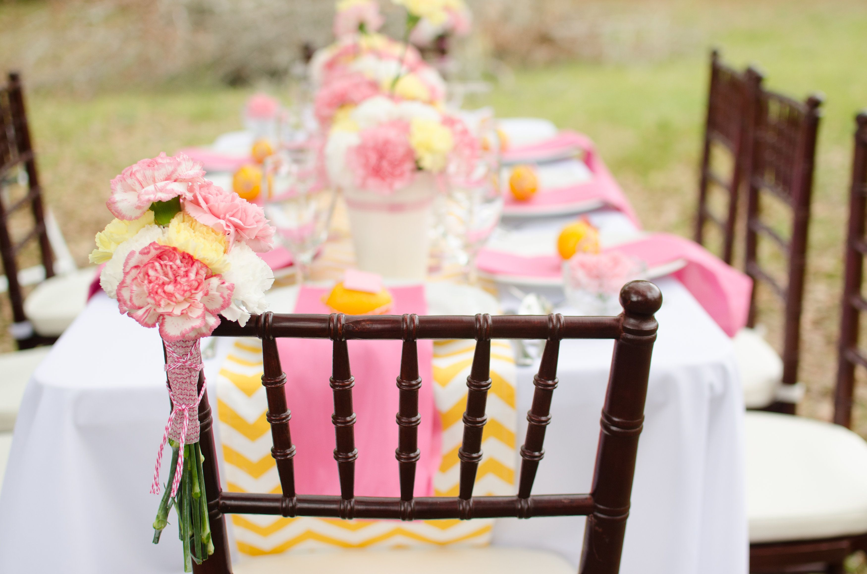 Pink Lemonade Tablescape Pensacola Fl Wedding Planner