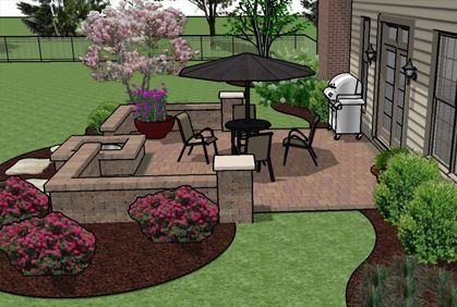 Incroyable Patio Design Software Tools With 3D Photos Of Best Makeovers And Floor  Layouts.