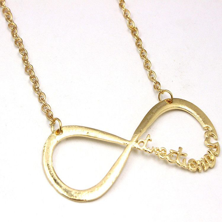 One Direction 1D Directioner infinity necklace