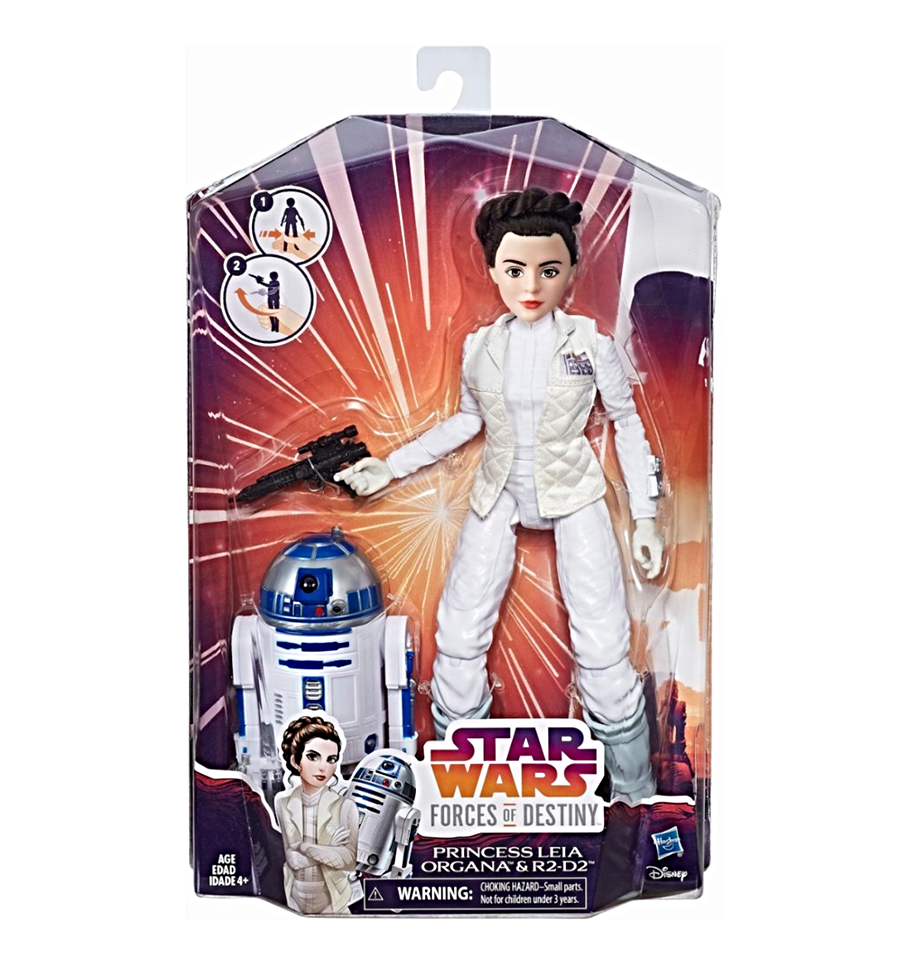 Star Wars Forces du destin Princesse Leia Organa et R2-D2 Adventure Set