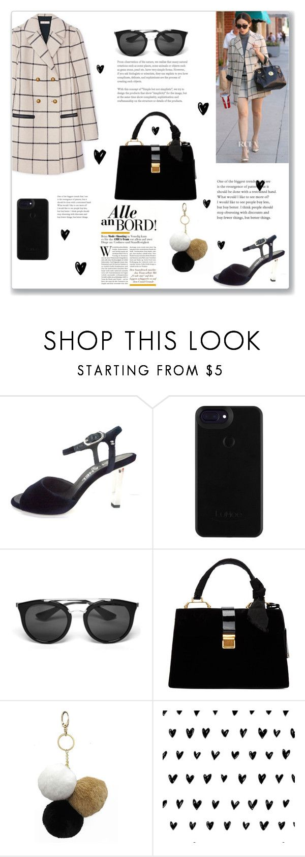 """Untitled #65"" by sonja-br ❤ liked on Polyvore featuring Tory Burch, Chanel, Prada, Miu Miu and Under One Sky"