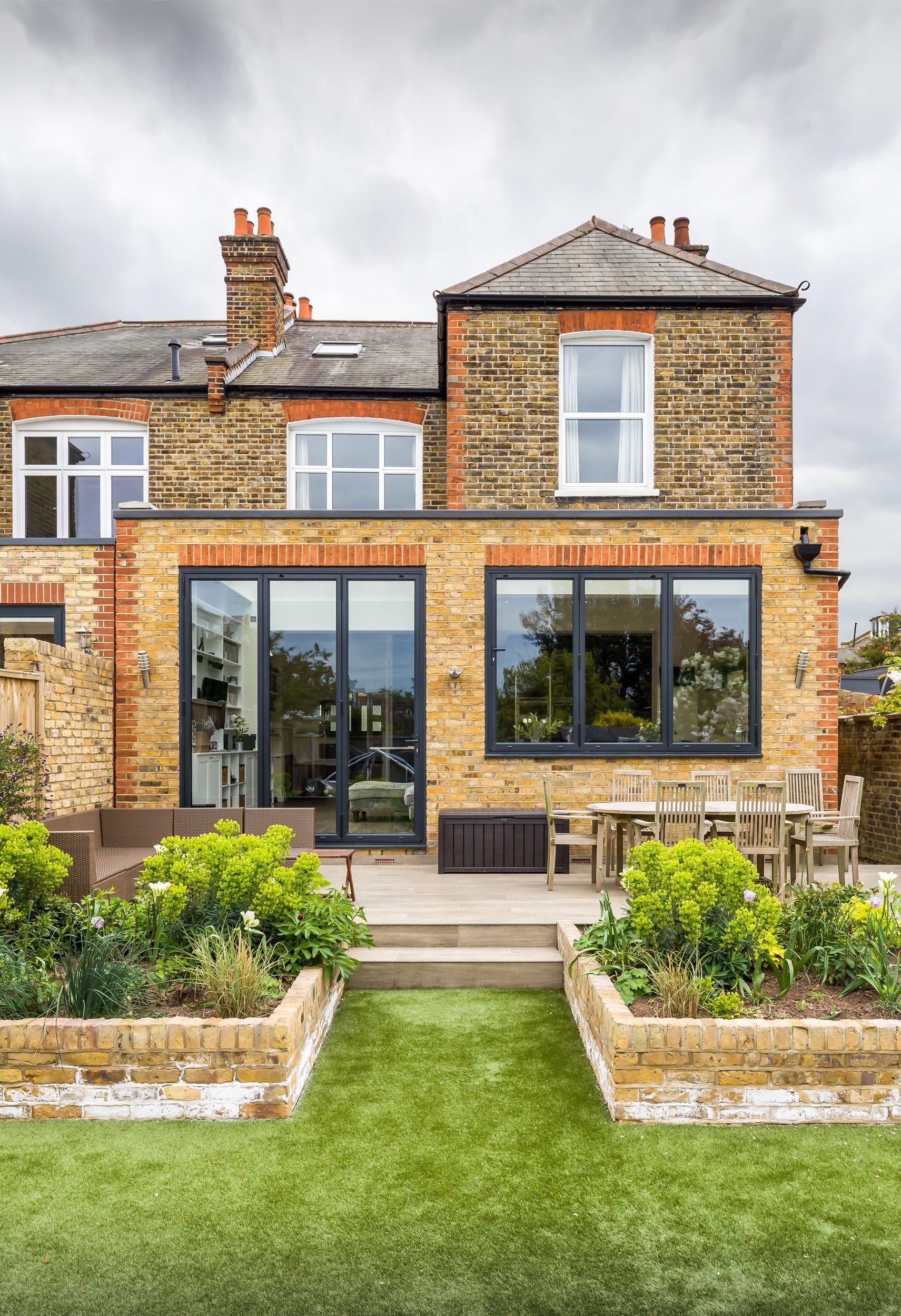 Flat roof rear extension   putney   london   UK   victorian property ...