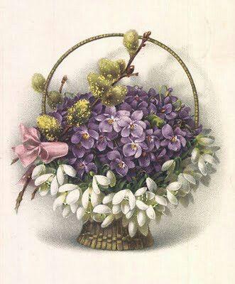 Vintage violets