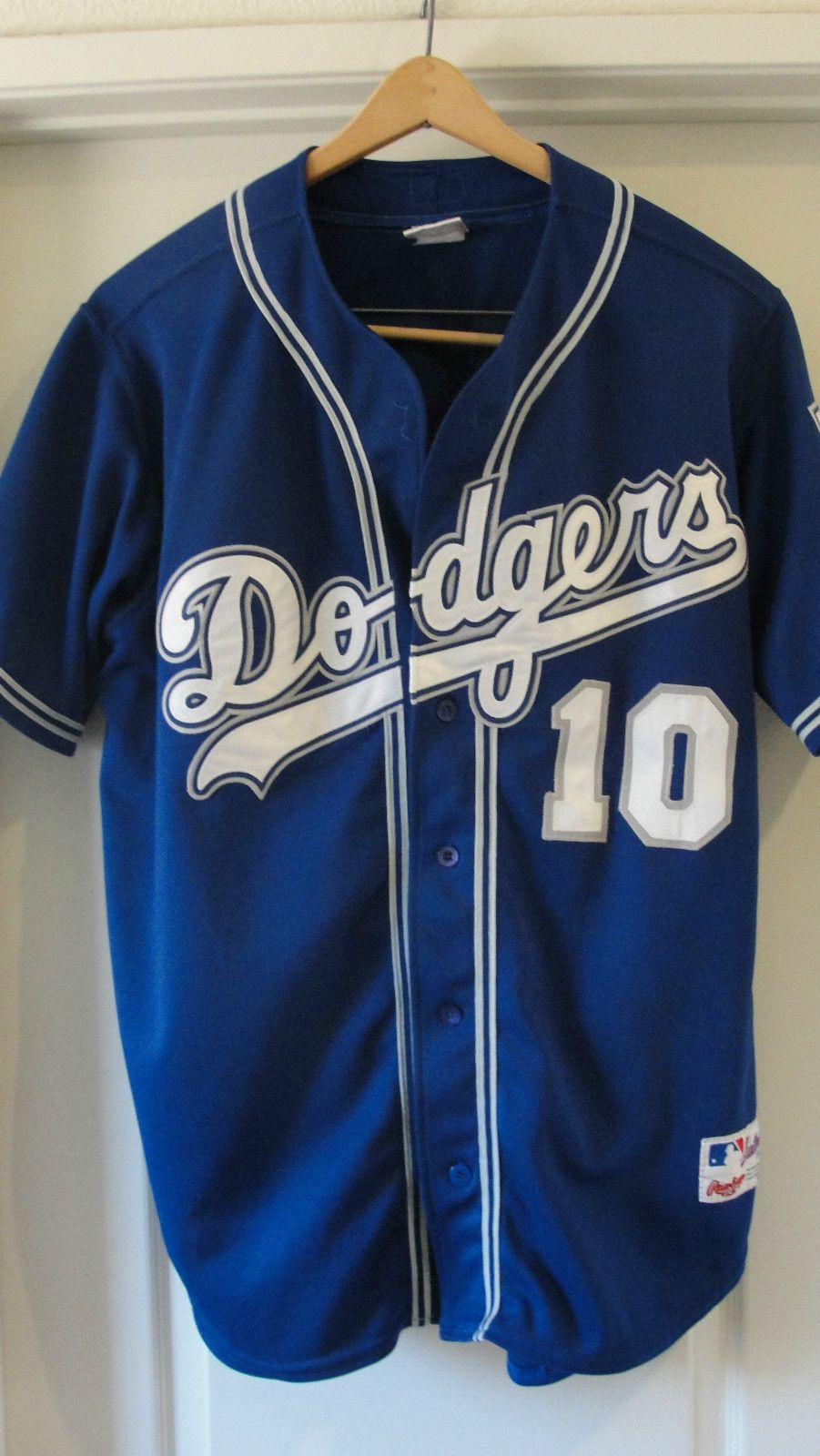 Vintage 90s Rawlings Authentic L A Dodgers Sewn Jersey Dodgers Gary Sheffield La Dodgers