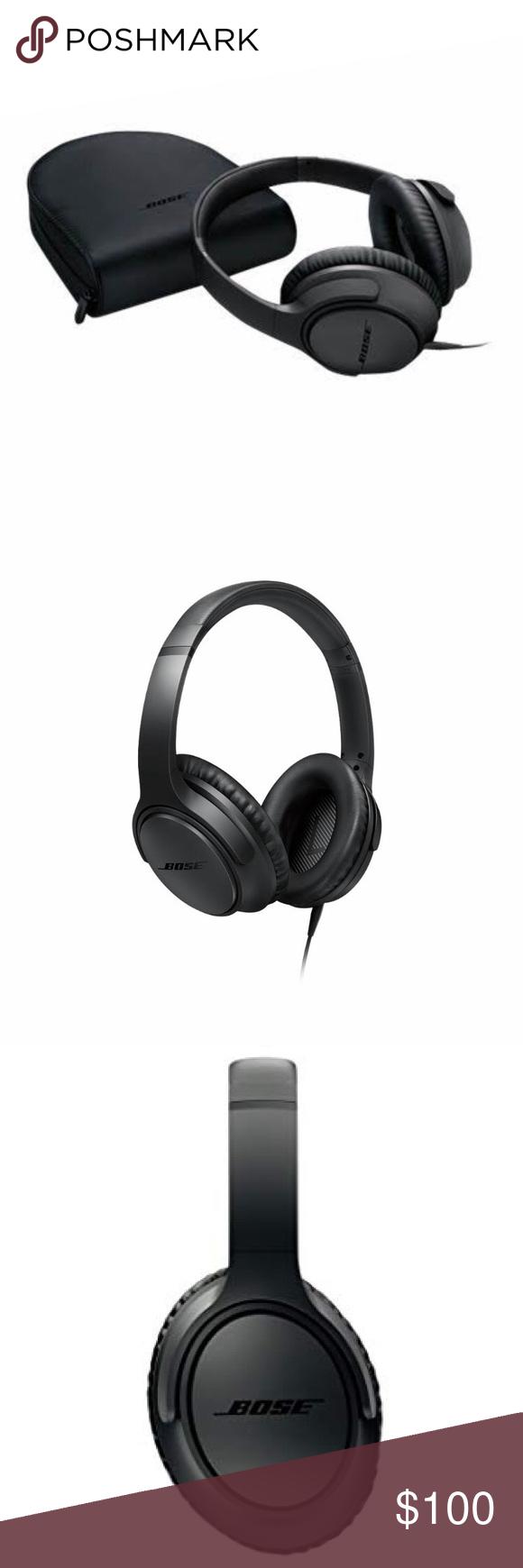 Bose Headphones Bose Soundtrue Around Ear Headphones Ii Apple Devices Charcoal Used But In Very Good Condition Bose Headphones Headphones In Ear Headphones