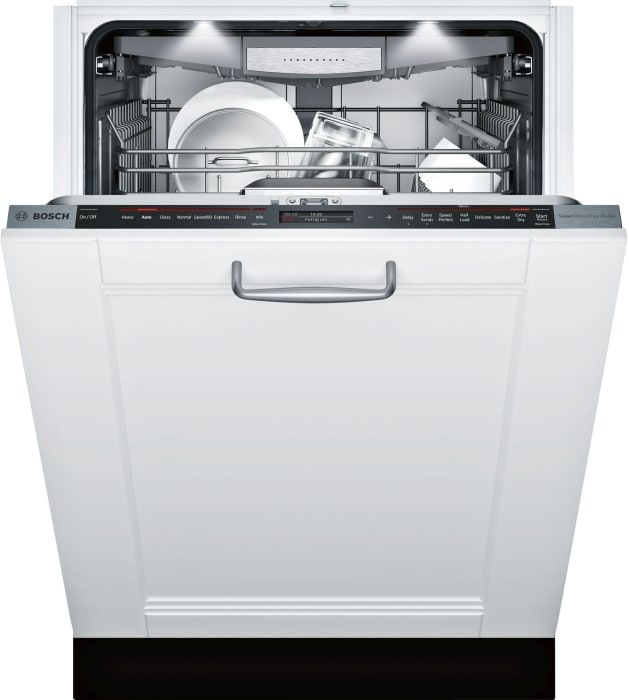 Bosch Shv89pw73n Fully Integrated Dishwasher With Rackmatic