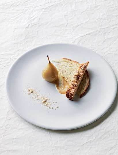A dessert celebrating malty flavours recipe from Green Pickled Peaches by Chui Lee Luk   Cooked