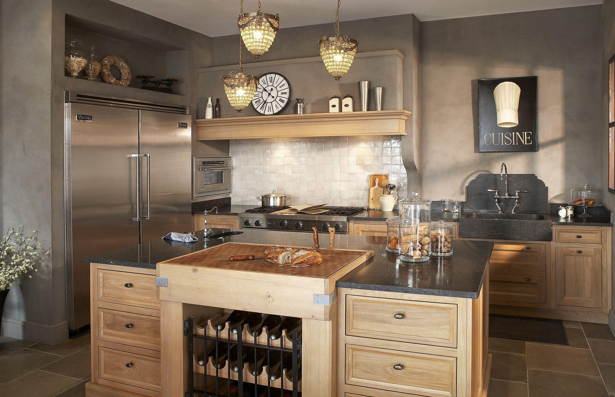 Cuisine contemporaine en métal - FLAMMANDE - COSI | cuisine ...
