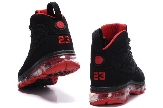 the best attitude 1e8d1 fdf43 Air Jordan 9 Max Black Red Shoes - Click Image to Close ...