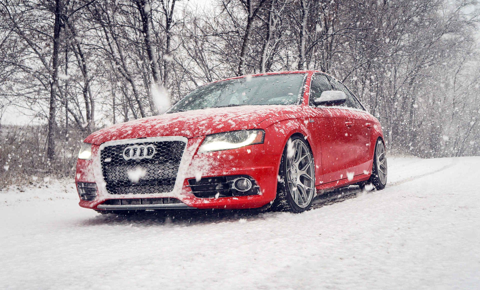Us Car Buyers Are Showing Signs Of Fatigue Winter Wallpaper Hd Red Audi Audi S4