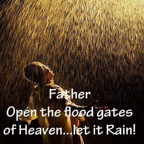 Holy Spirit rain down on us tonight at 6:00 pm New Jerusalem Church Tampa