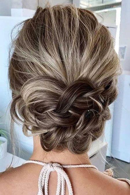 28 peinados cortos de baile – peinado simple