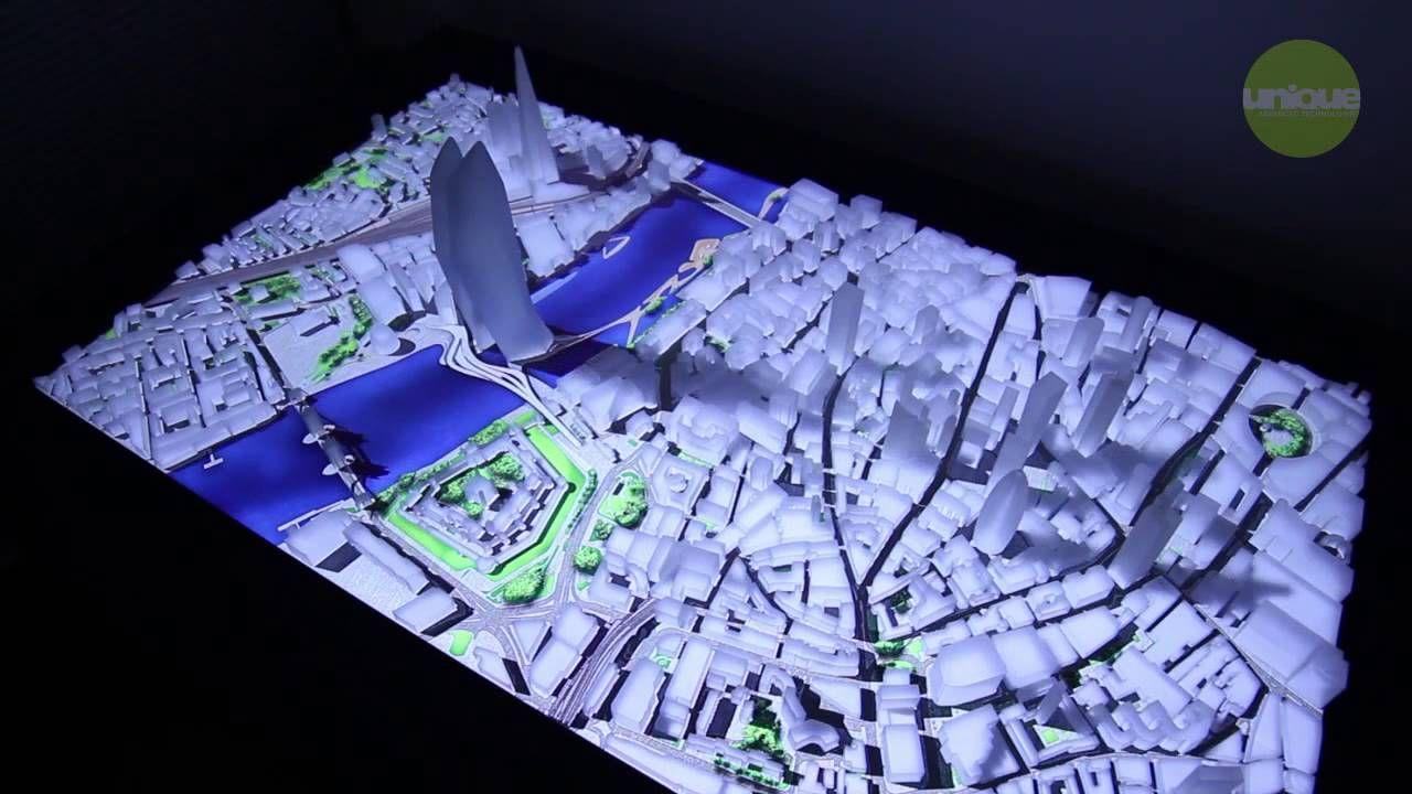 Exhibition Display Design Ideas : Uniqueat imodel interactive architectural model