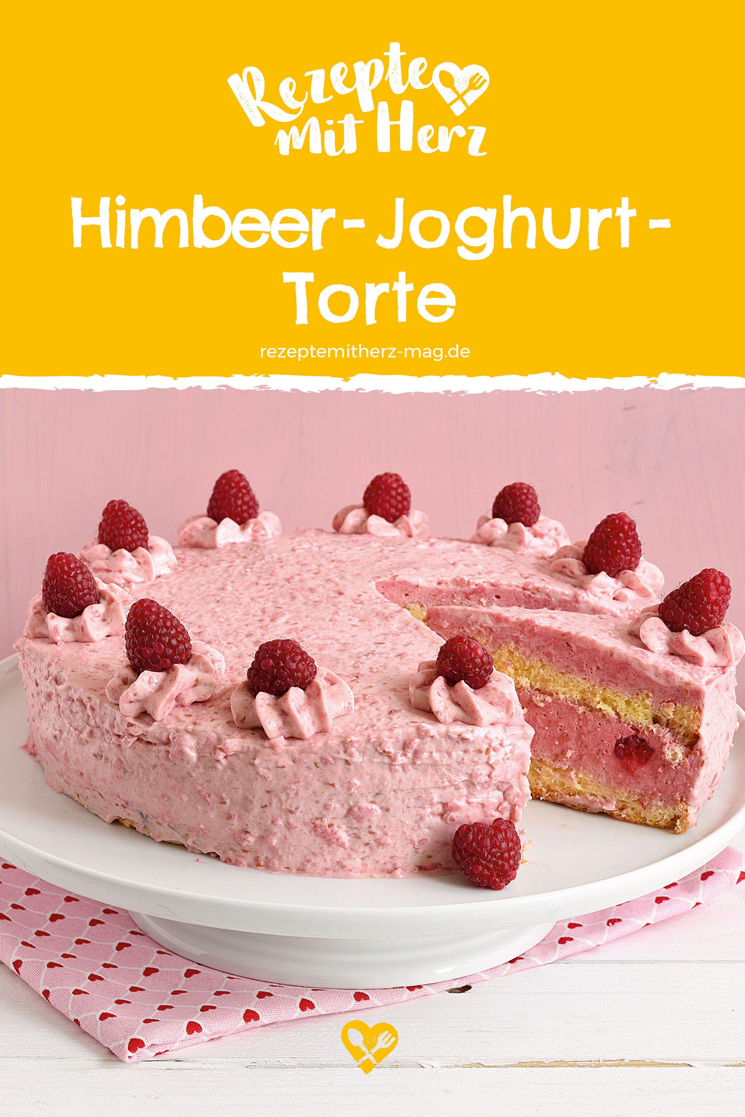 Himbeer Joghurt Torte Himmlich Fruchtig Und Joghurt Leicht Ist