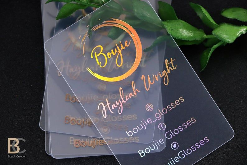 My New Business Card Plastic Business Cards Design Graphic Design Business Card Business Card Design Creative