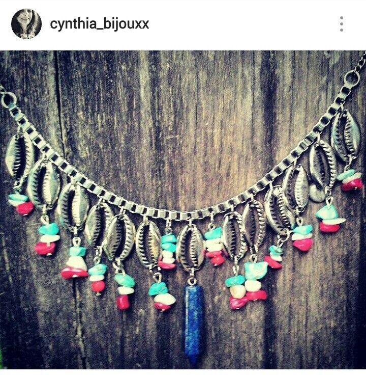 Búzios necklace ! Boho style!