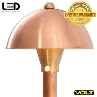 Volt Mushroom Copper Path Area Light Led Outdoor Lighting Low Voltage Outdoor Lighting Outdoor Lighting