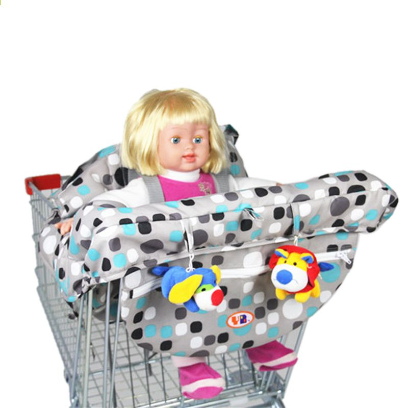 Multifuncional beb ni os plegables carrito de compras de for Compra de sillas plegables
