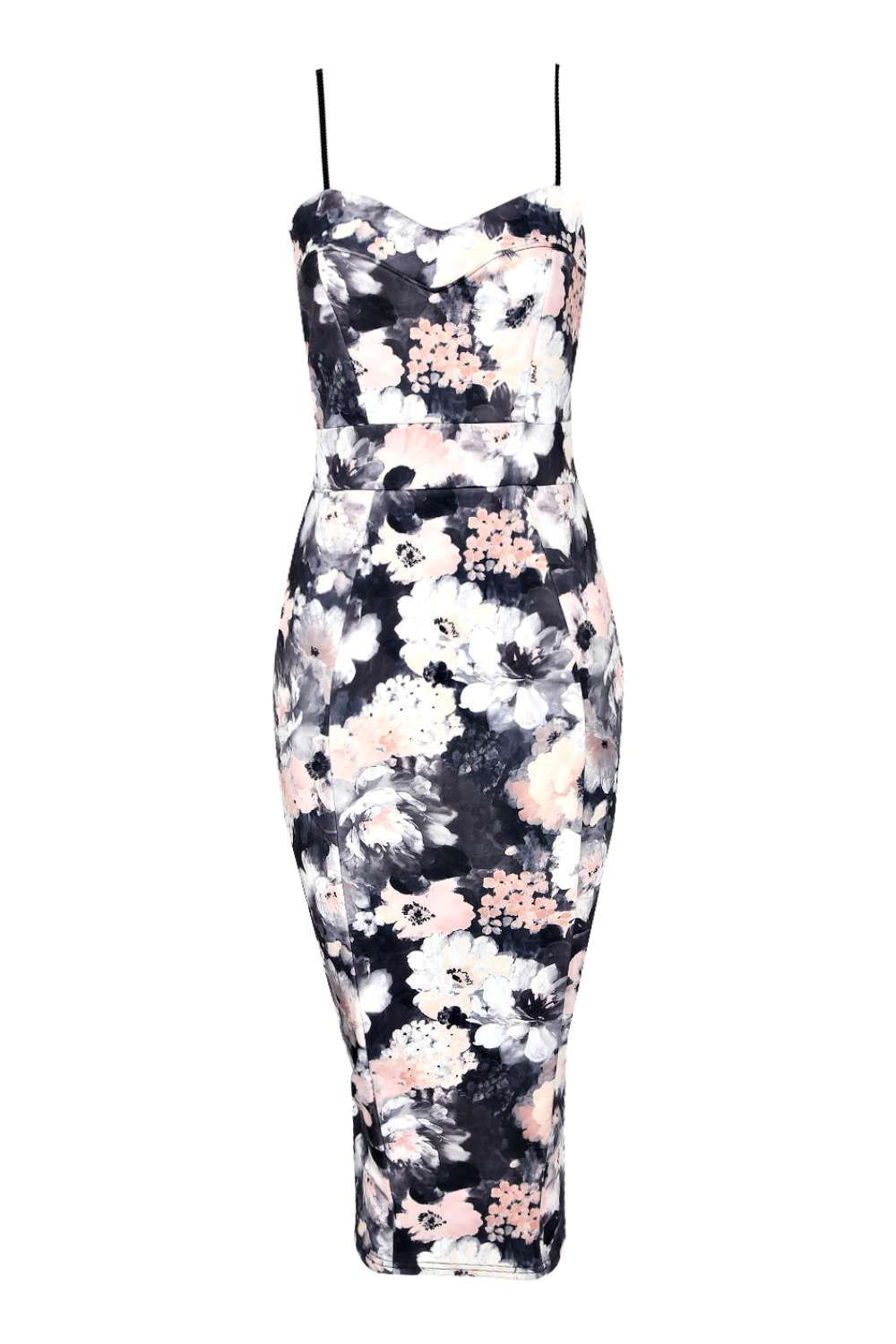 ae64d8a4accf Edie Cami Sweetheart Floral Bodycon Dress | casual outfits in 2019 ...