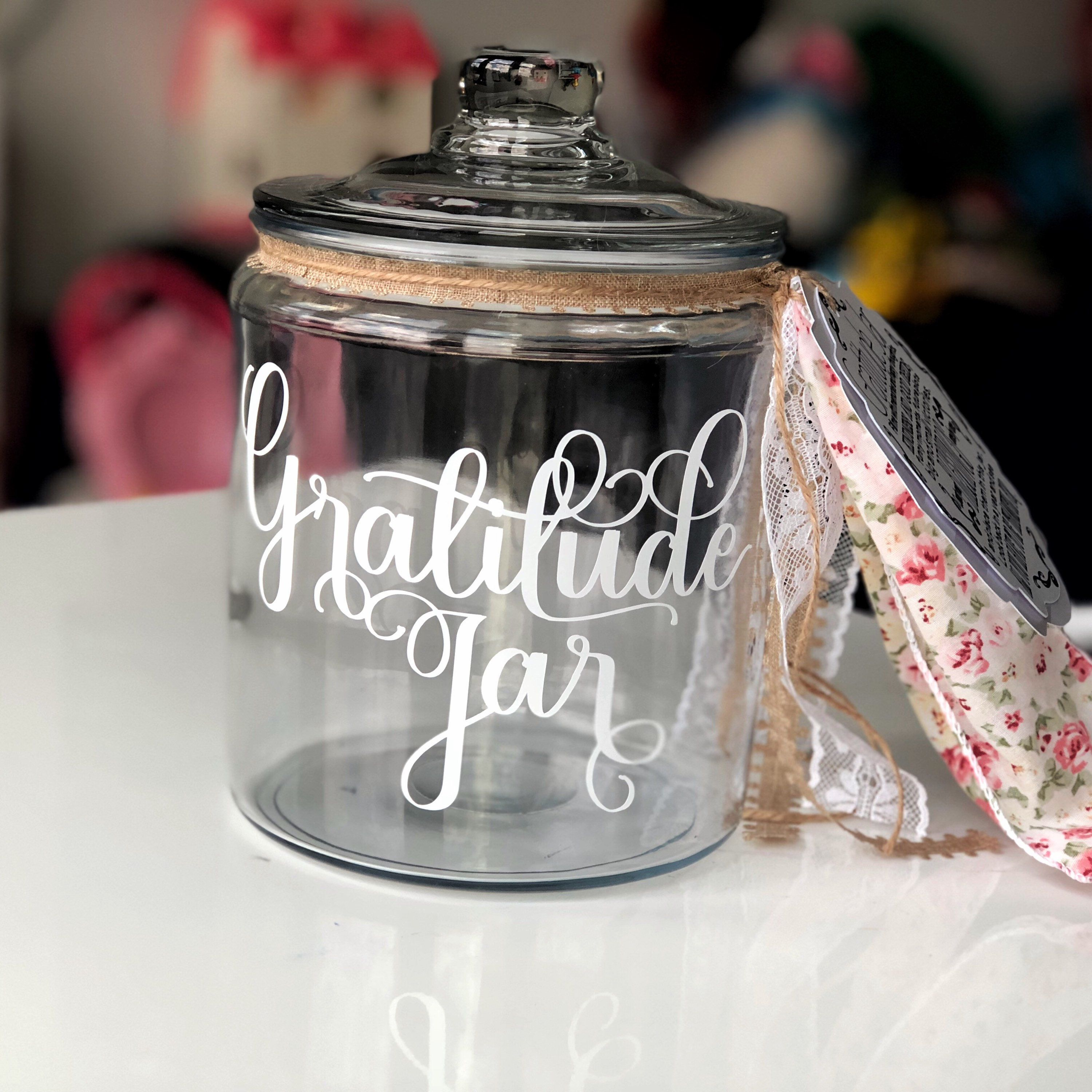 Gratitude Jar Gratitude Jar Kit Gratitude Journal Blessing Jar Blessings Journal Memory Jar Happiness Jar Gratitud Gratitude Jar Happy Jar Blessings Jar
