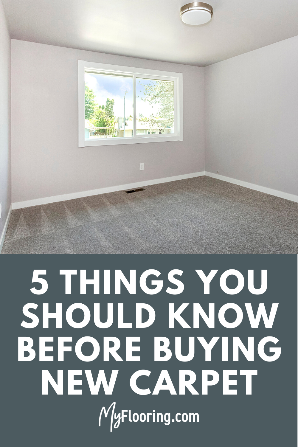 5 Things You Should Know Before Buying New Carpet