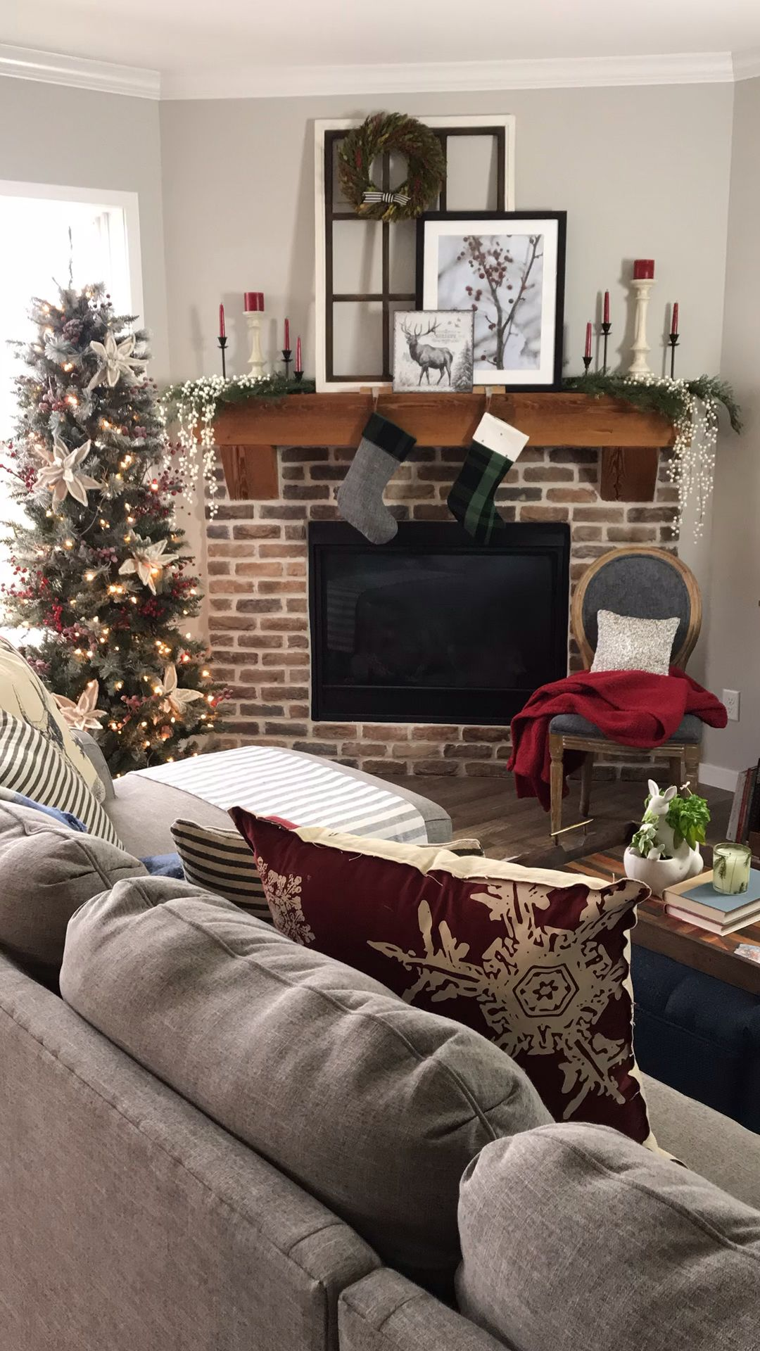 Holiday Decor by The Chic(ish) Chick -   21 christmas decorations living room ideas