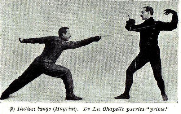 Italian vs. French Foil; Britain, 1908 | The Secret History of the Sword