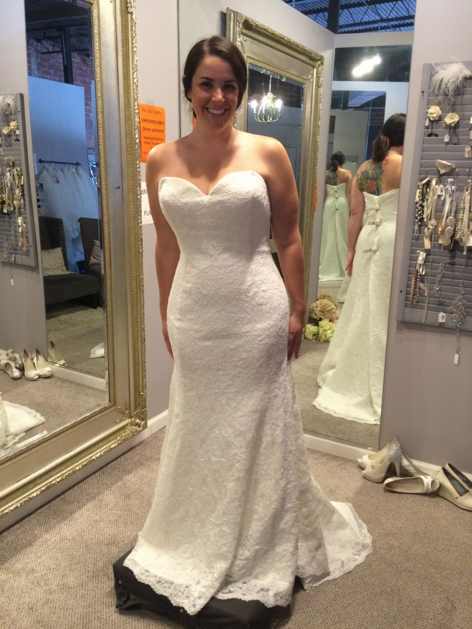 Spectacular Other Size New Un Altered Wedding Dresses