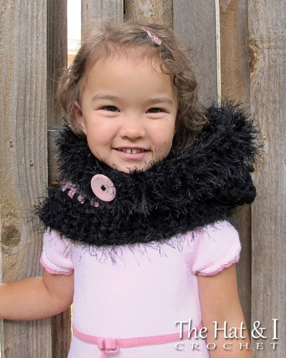 CROCHET PATTERN - The Cat\'s Meow - chunky crochet hooded cowl ...