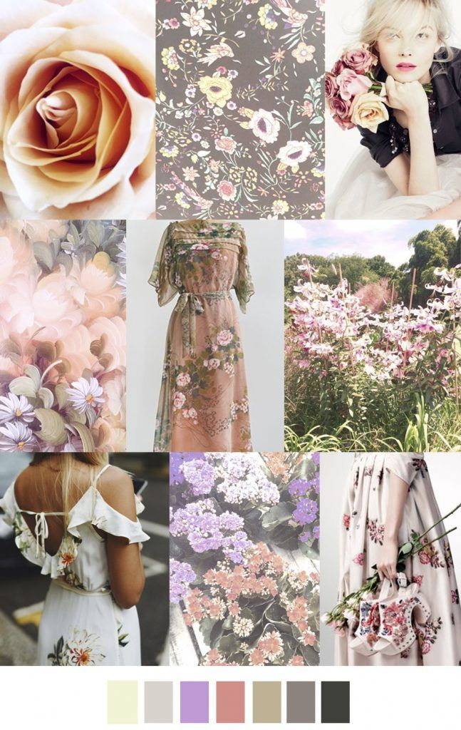 Romantic Garden Color in 2018 Pinterest Fashion, Color trends