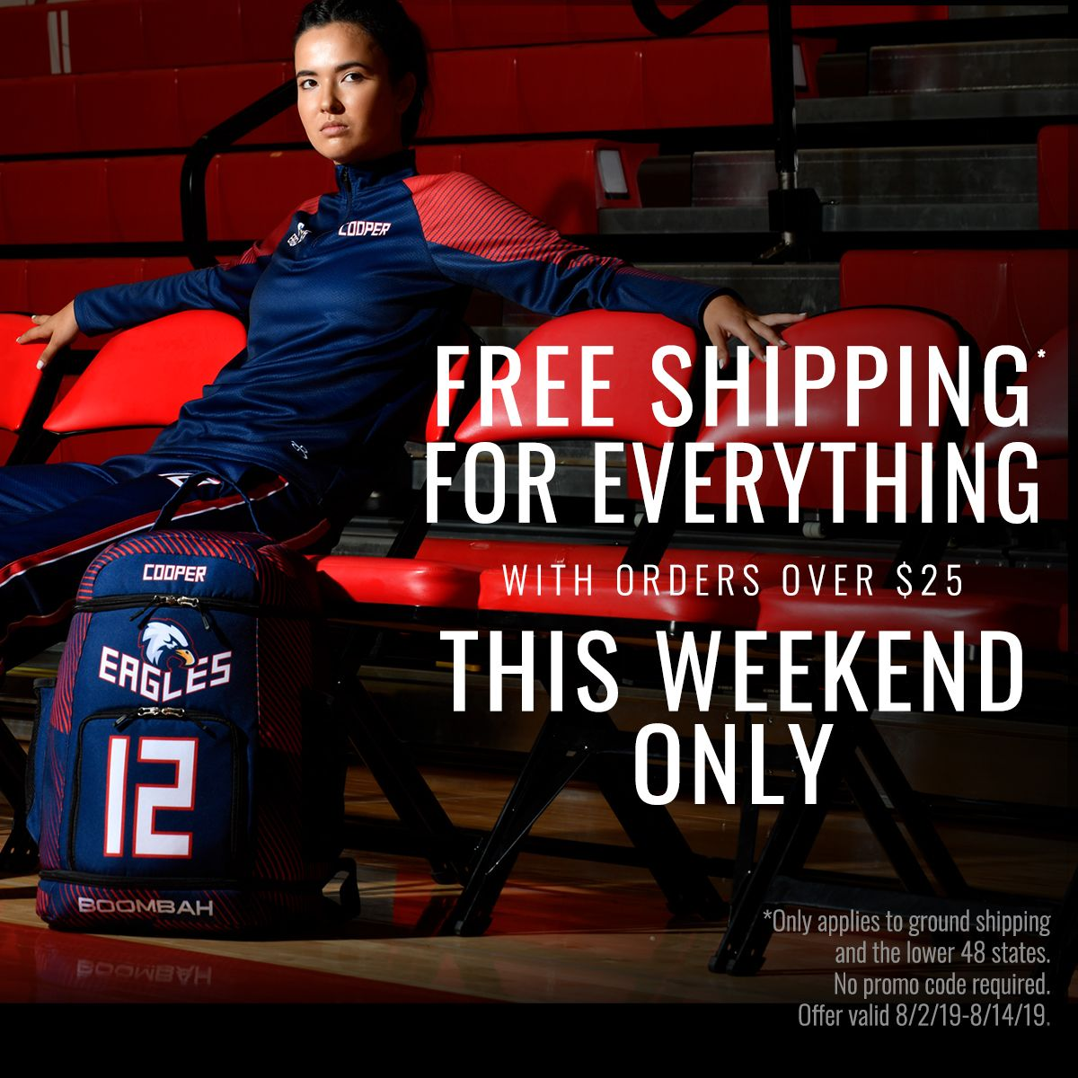 Get Free Ground Shipping On Everything This Weekend Only On Orders Over 25 Boo Sports Slow Pitch Softball Baseball Clothing And Equipment