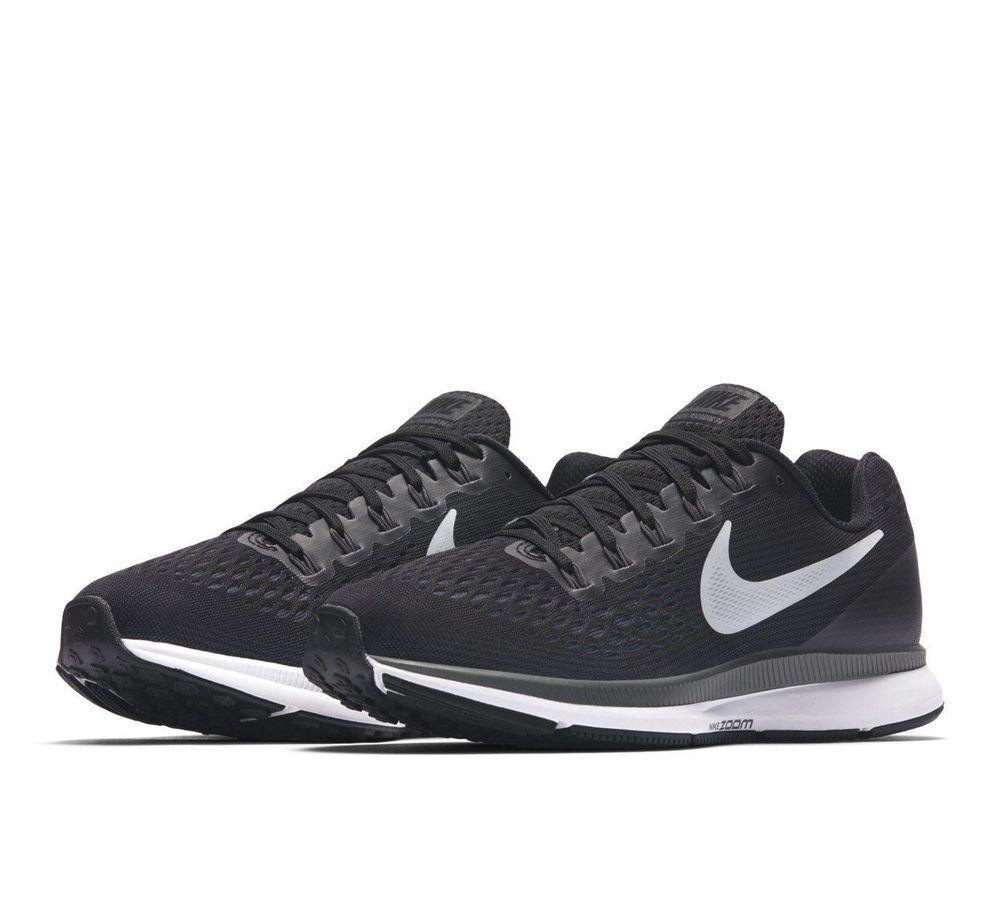 uk availability 6b873 61328 Nike Air Zoom Pegasus 34 Womens Running Shoes 6 Black White  Nike   RunningShoes