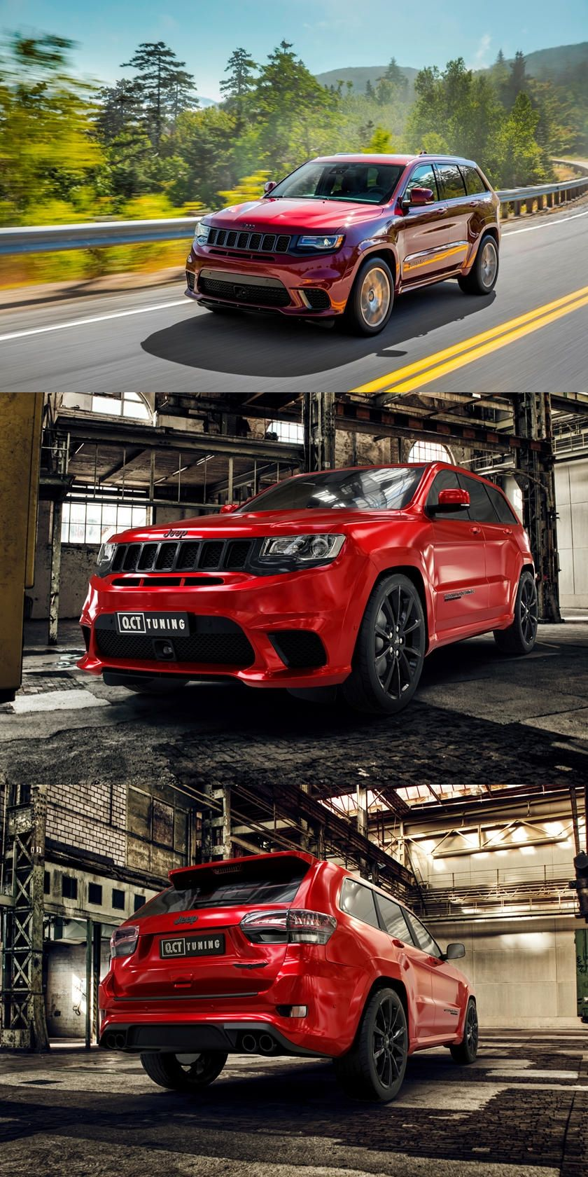 888 Hp Jeep Trackhawk Hellhound Delivers Supercar Performance 0 62 Mph In The Jeep Trackhawk Now Takes Just Three Seconds In 2020 Jeep Super Cars Performance