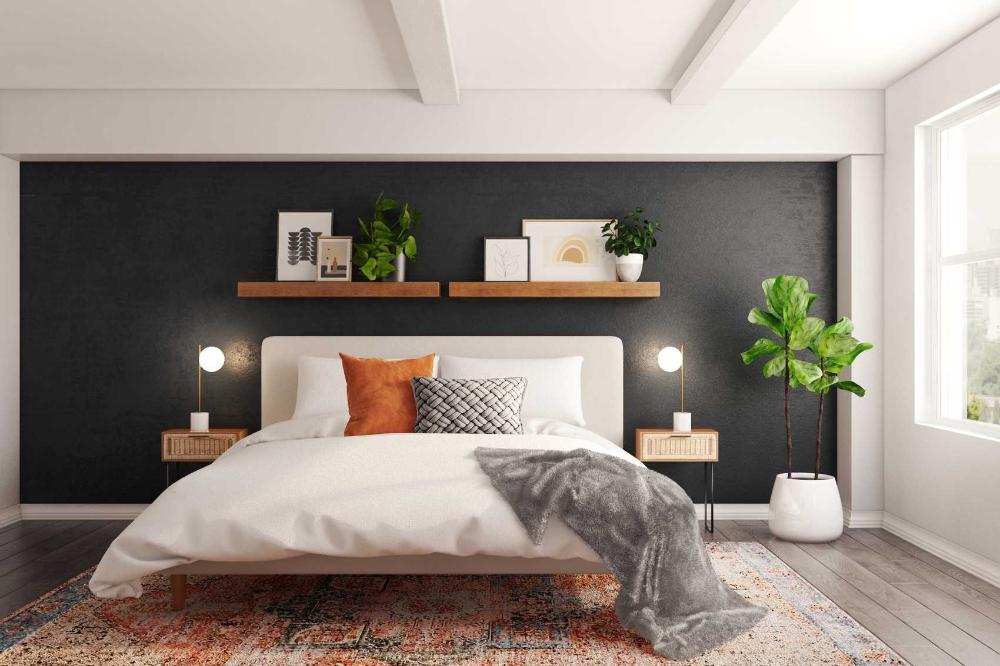 Mid Century Modern Bedroom Interior Designer Ideas | Havenly