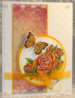 Our Daily Bread Designs Stamp sets: Trois Jolies Papillons, Smell the Roses, Mini Tag Sentiments, ODBD Heart and Soul Paper Collection, ODBD Custom Dies: Mini Tags, Trois Papillons