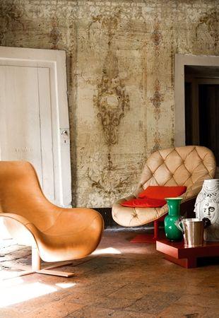 Aivan ihania tapetteja Wall&Deco lta. Tapetit ovat uudesta Life 12 kokoelmasta  Luistelija ja kalastaja ovat uudesta Think Tank 12 kokoelm...