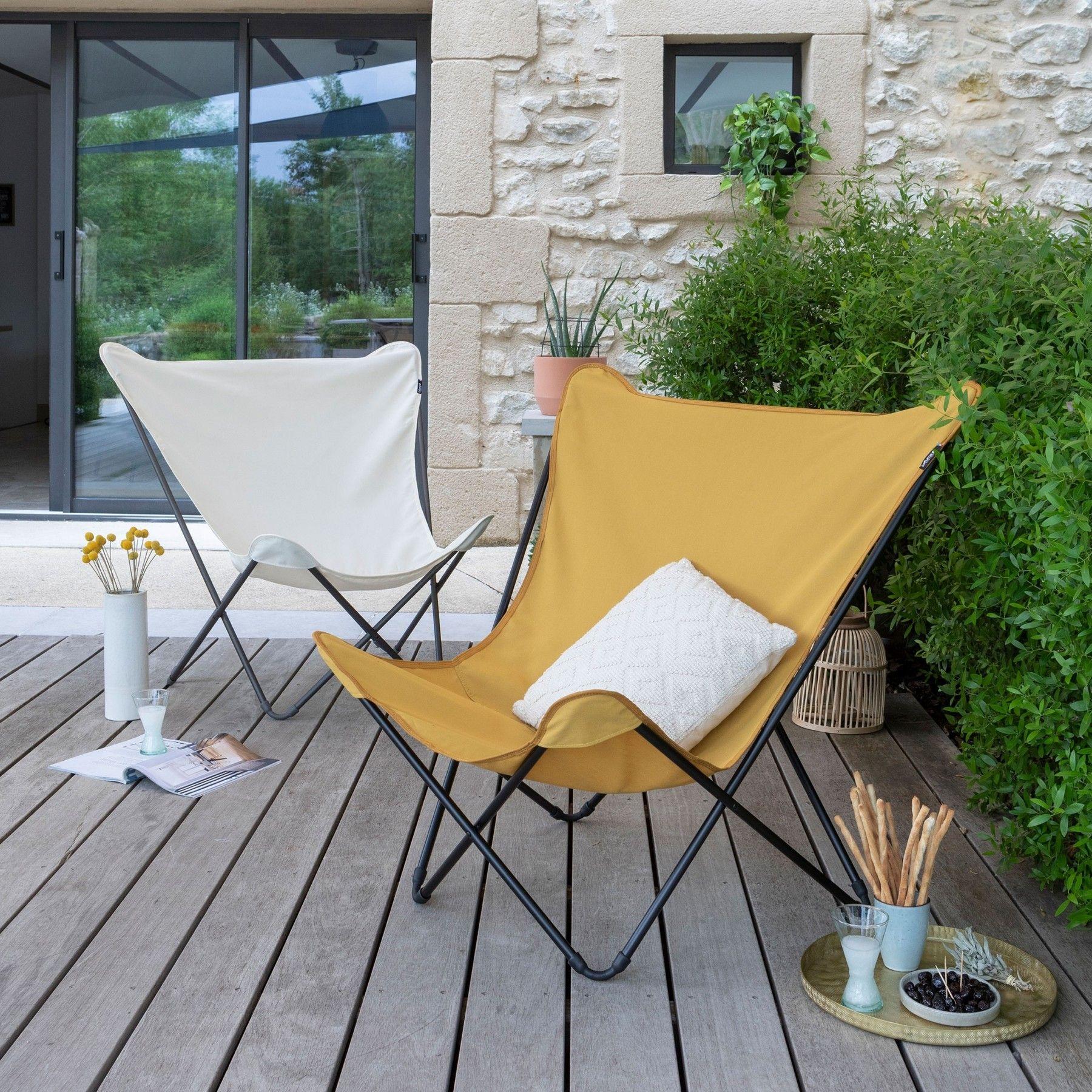 Fauteuil Design Pop Up Xl Airlon Curry Fauteuil Terrasse Mobilier Chaise Pliante