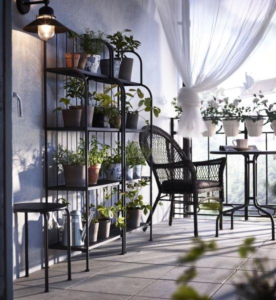 Lacko Shelving Unit Outdoor Gray Ikea In 2020 Balcony Furniture Ikea Garden Furniture Ikea Outdoor