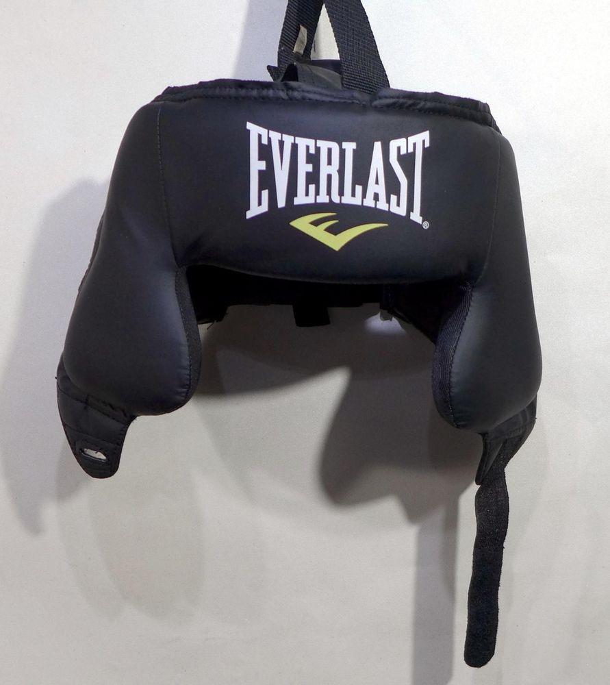 Everlast head guard gear open face boxing muay thay