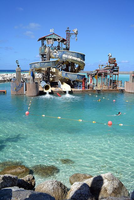 Castaway Cay Pelican Plunge Cruise Vacation Disney Fantasy Cruise Disney Fantasy Cruise Ship