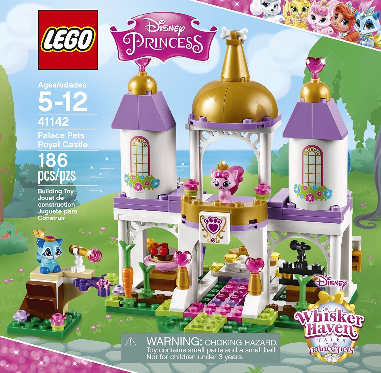 Lego L Disney Whisker Haven Tales With The Palace Pets Palace Pets Royal Castle 41142 Disney Toy A Disney Princess Palace Pets Palace Pets Lego Disney Princess