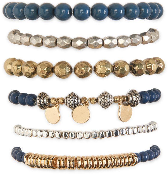Hamsa Stretch Bracelet 6-Pack