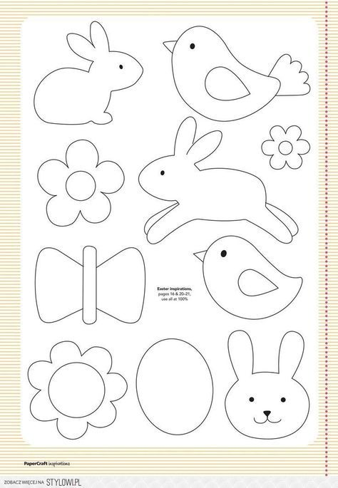 Pin by Nora Lovely on Patterns   Pinterest   Pascua, Moldes and Patrones