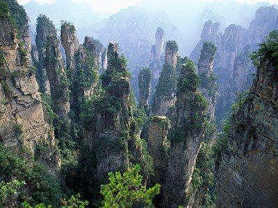 Wulingyuan National Park, China