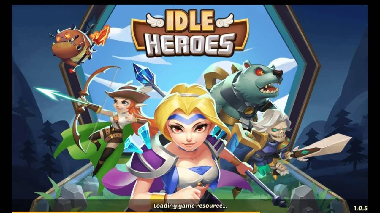idle heroes mod apk ios