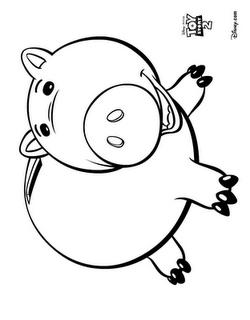 Molde Do Bala No Alvo Porquinho E Et Turma Do Toy Story