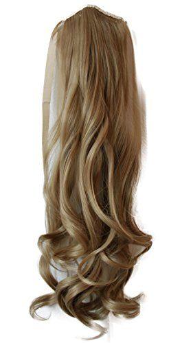 PRETTYSHOP Haarteil hairpiece Zopf Pferdeschwanz Haarverlängerung 55cm gewellt diverse Farben (blond braun Farbton16t22t) Unbekannt http://www.amazon.de/dp/B00AME0TR8/ref=cm_sw_r_pi_dp_QdBVwb18ZVDTE