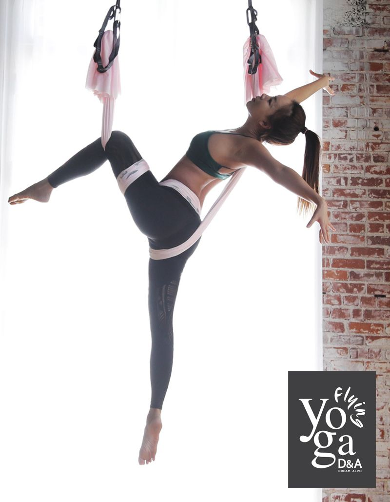 D A Flying Yoga Aerial Yoga Los Angeles Aerial Yoga Poses Yoga Poses Aerial Yoga