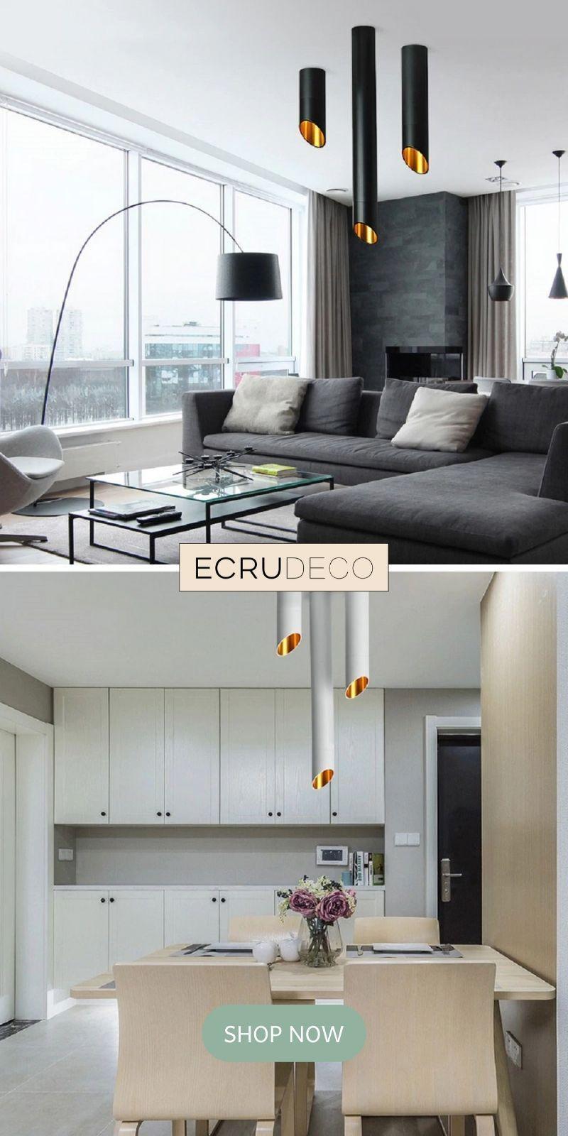 Krause Modern Tube Lamp Gu10 7w Ecrudeco Com In 2020 Living Room Lighting Stylish Living Room Modern Ceiling Light #tube #lights #for #living #room