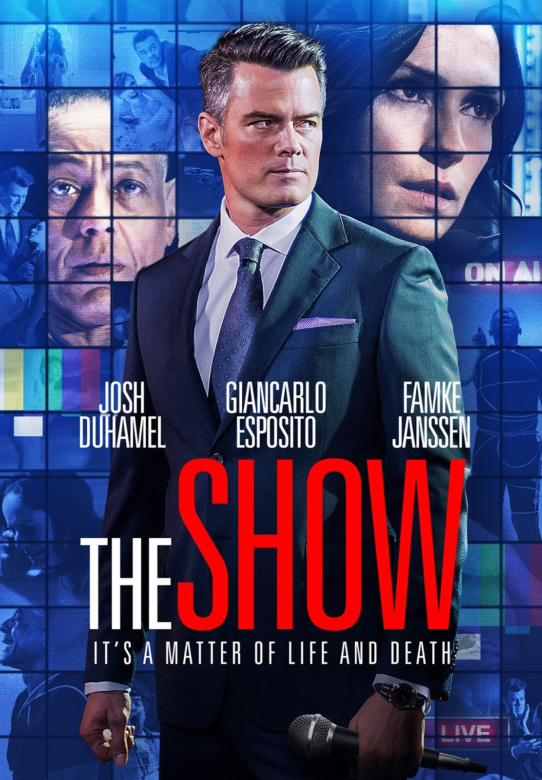 b15c7215b8 Josh Duhamel stars in the new movie The Show, directed by Giancarlo  Esposito. Read the spoiler free review @ The Movie Sleuth.